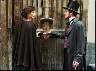 "Vicky Krieps and Stefan Konarske in ""The Young Karl Marx"""