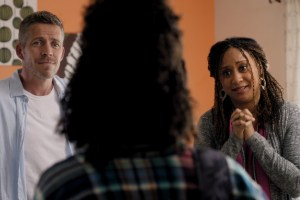 "Tracie Thoms and Sean Maguire in ""Are We Good Parents"""