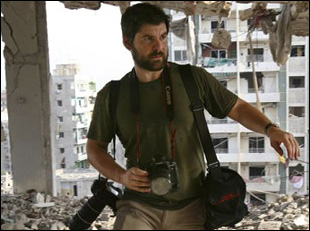 "Chris Hondros in ""Hondros"""