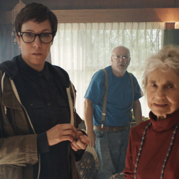 """Lee Wilkoff, Lynn Cohen and Rebecca Henderson in """"Tooth and Nail"""""""