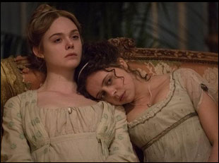 """Elle Fanning and Bel Powley in """"Mary Shelley"""""""