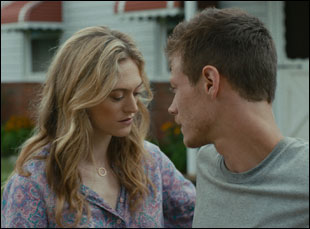 """Marin Ireland and McCaul Lombardi in """"Sollers Point"""""""