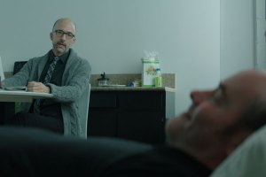 "Jim Rash and David Koechner in ""Bernard and Huey"""
