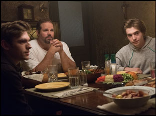"David Denman, Austin Abrams and Bubba Weiler in ""Puzzle"""