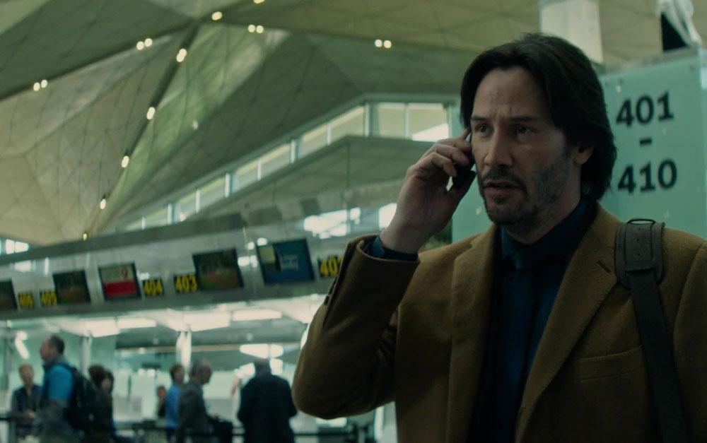 """Keanu Reeves in """"Siberia"""""""