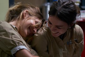 """Maia Mitchell and Cami Morrone in """"Never Goin' Back"""""""