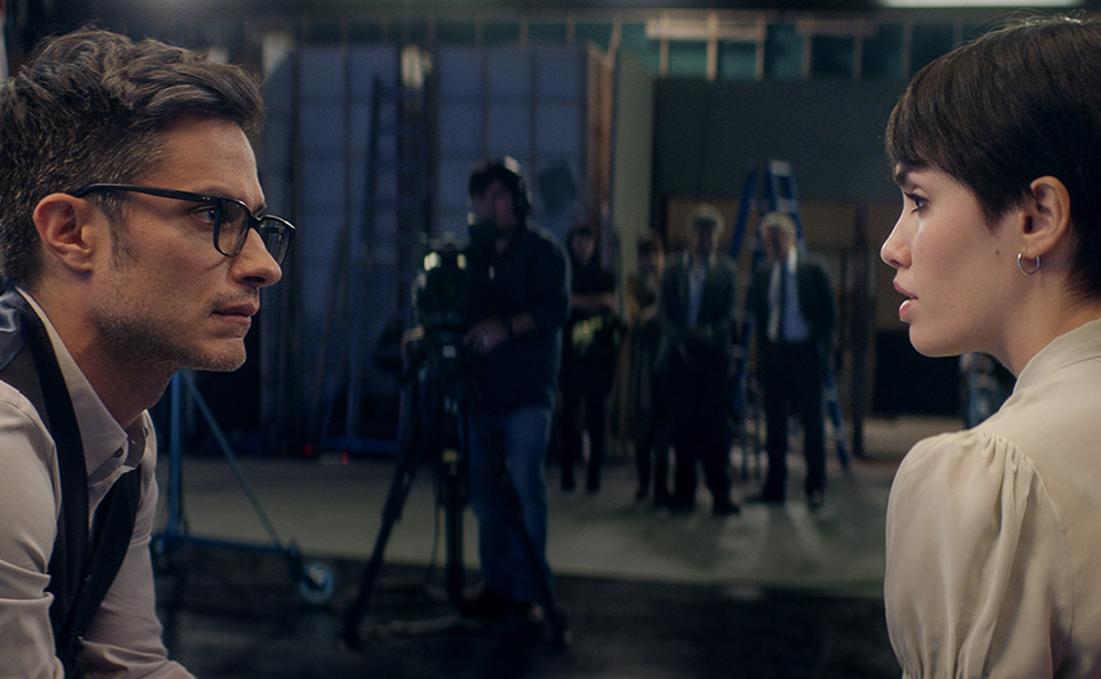 """Gael Garcia Bernal and Lali Esposito in """"The Accused"""""""