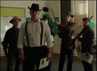 "A scene from Robert Greene's ""Bisbee '17"""