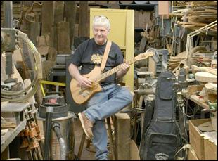 "Rick Kelly in ""Carmine Street Guitars"""