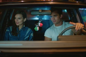"Spencer Boldman and Emily Ratajkowski in ""Cruise"""