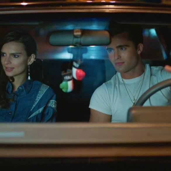 "Spencer Boldman and Emily Ratajkowski in ""Cruise"""