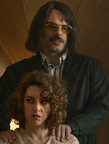 """Jemaine Clement and Aubrey Plaza in """"An Evening with Beverly Luff Linn"""""""