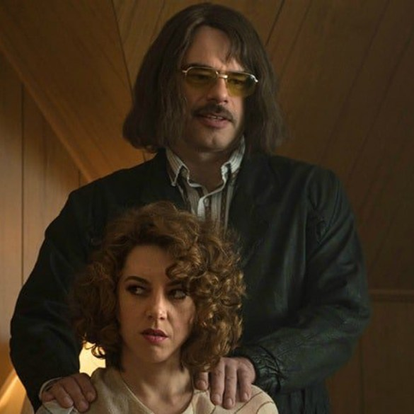 "Jemaine Clement and Aubrey Plaza in ""An Evening with Beverly Luff Linn"""