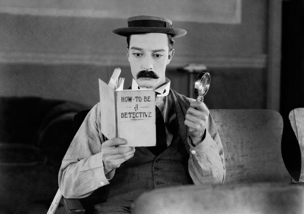 "Buster Keaton in ""The Great Buster"""