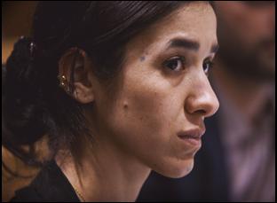 "Nadia Murad in ""On Her Shoulders"""