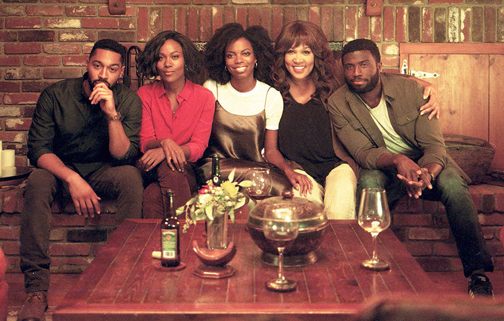 """A scene from Stella Meghie's """"The Weekend"""""""