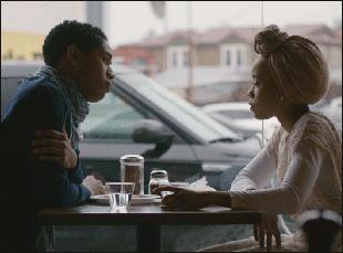 """Kelvin Harrison Jr. and Zoe Renee in """"Jinn"""""""