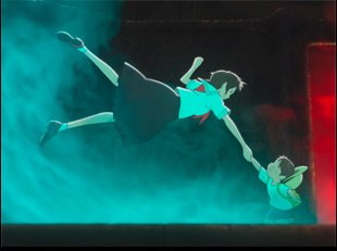 "A scene from Mamoru Hosoda's ""Mirai"""