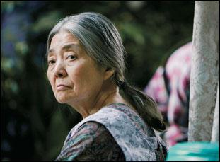 "Kiki Kirin in a scene from Hirokazu Kore-eda's ""Shoplifters"""