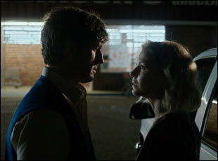 "Jennifer Morrison and Alex Pettyfer in ""Back Roads"""