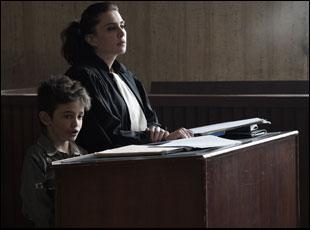 """Zain Al Rafeea and Nadine Labaki in """"Capernaum"""""""