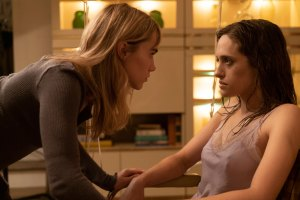 "Suki Waterhouse and Carly Chaiken in ""New Year, New You"""