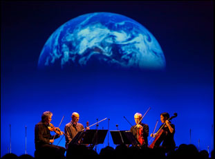 "The Kronos Quartet in Sam Green's ""A Thousand Thoughts"""