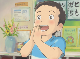 """A scene from Studio Ponoc's """"Modest Heroes"""" from Life Ain't Going to Lose"""
