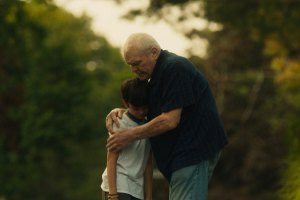 """Brian Dennehy and Lucas Jaye in """"Driveways"""""""