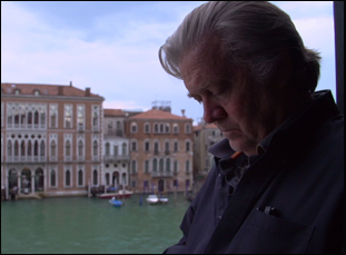 """Steve Bannon in """"The Brink"""""""