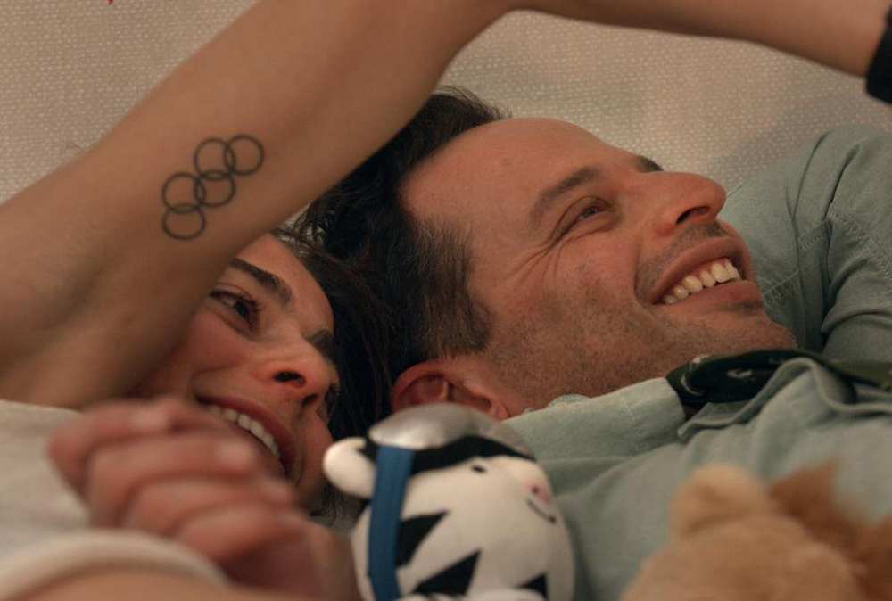"""Nick Kroll and Alexi Pappas in """"Olympic Dreams"""""""