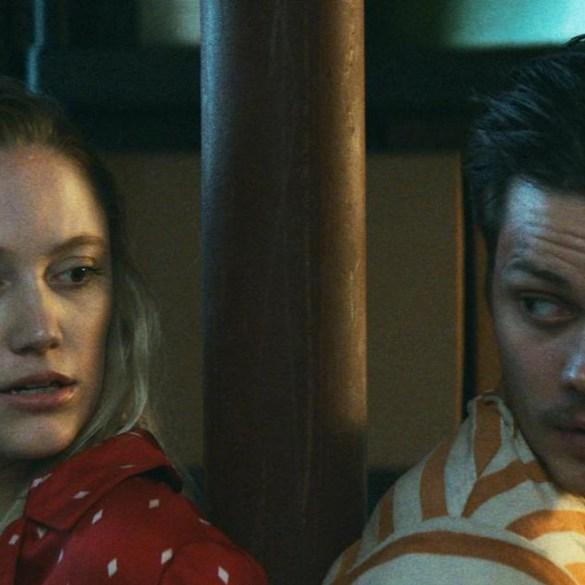 """Maika Monroe and Bill Skarsgard in """"Villains"""""""