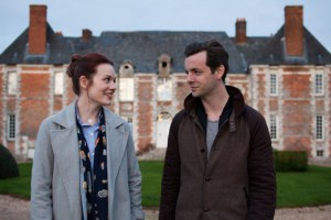 "Gethin Anthony and Cara Theobold in ""Around the Sun"""