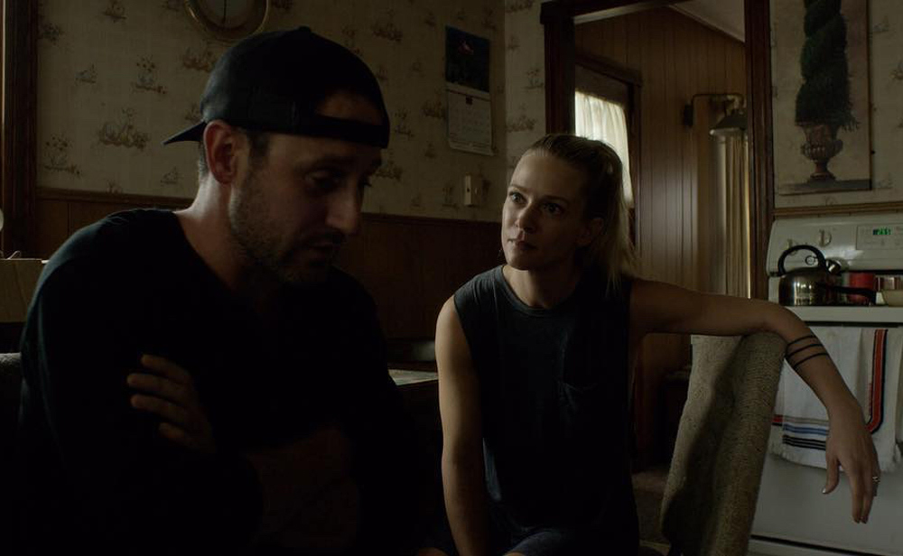 """Josh Stewart and A.J. Cook in """"Back Fork"""""""