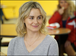 "Taylor Schilling in ""Family"""