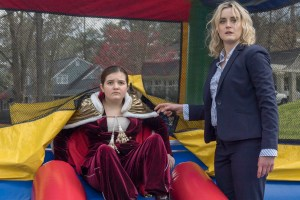 "Taylor Schilling and Bryn Vale in ""Family"""