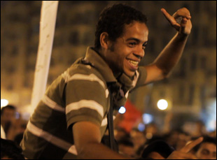 """Ahmed Hassan in Jehane Noujaim's """"The Square"""""""