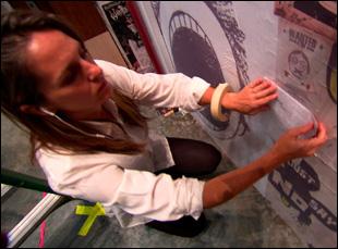 "Christine Jones doing the set design on ""American Idiot"" in ""Broadway Idiot"""