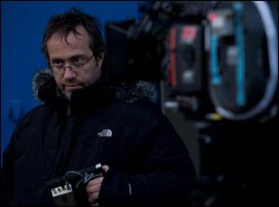 "Jaco Van Dormael on the set of ""Mr. Nobody"""