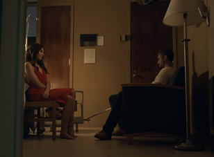"Genesis Rodriguez and Paul Walker in ""Hours"""