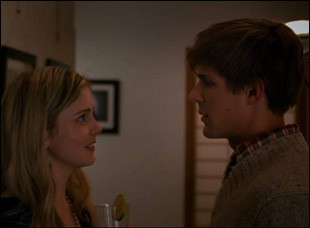 "Rose McIver and Chris Lowell in Maggie Kiley's ""Brightest Star"""