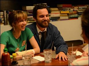 "Zoe Kazan and Jake Johnson in ""The Pretty One"""