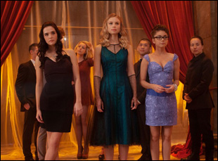 "Lucy Fry, Zoey Deutch and Sarah Hyland in ""Vampire Academy"""