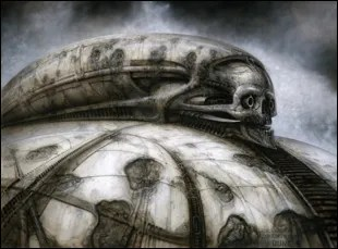 "H.R. Giger's illustrations for ""Jodorowsky's Dune"""