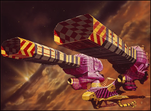 "Chris Foss illustration for ""Jodorowsky's Dune"""