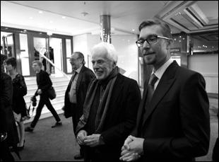 Frank Pavich and Alejandro Jodorowsky