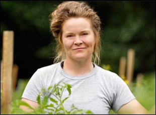 """Margaret Schlass in """"Farmland"""""""