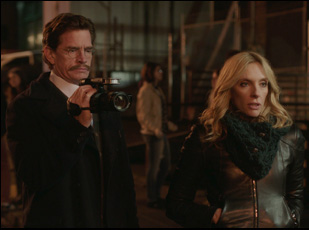 "Thomas Haden Church and Toni Collette in ""Lucky Them"""