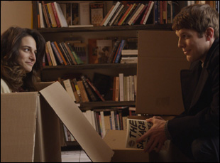 "Jake Lacy and Jenny Slate in ""Obvious Child"""