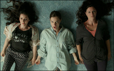 "Aleksa Palladino, Lindsay Burdge and Jennifer LaFleur in ""The Midnight Swim"""